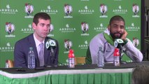 Kyrie Irving, Brad Stevens On Paul Pierce Getting His Number Retired