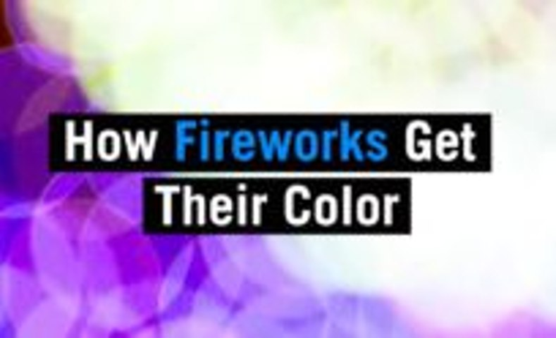 How Fireworks Get Their Color