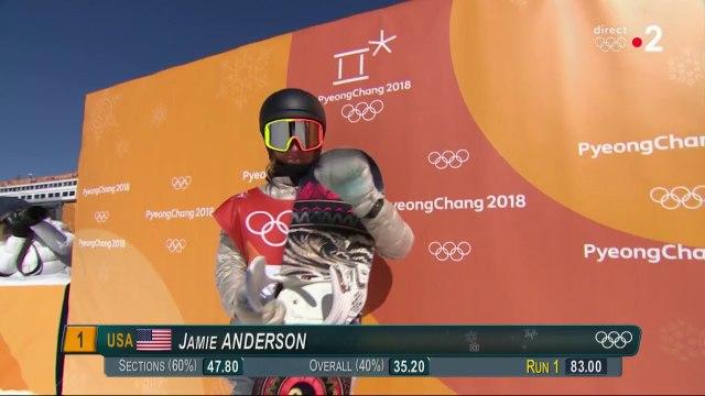 JO 2018 : Jamie Anderson dompte le vent et décroche l'or olympique !