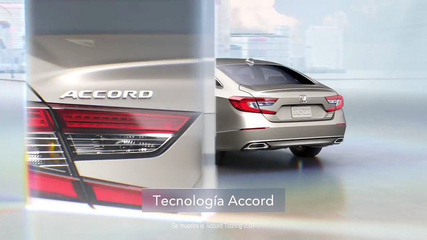 2018 Honda Accord Technology- A Whole New Light - Traffic (Spanish) - YouTube