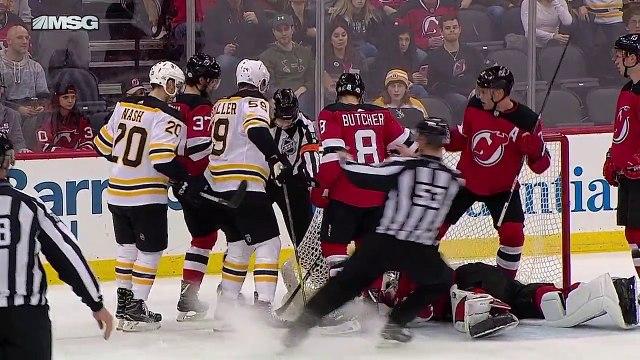 Boston Bruins vs New Jersey Devils  Feb 11 2018  Game Highlights  NHL 201718 Обзор