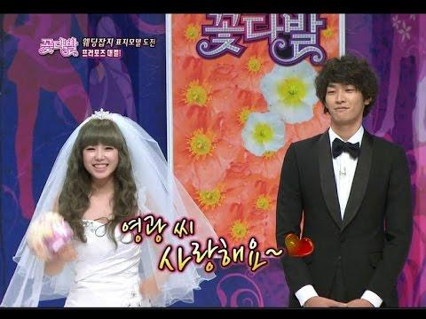 【TVPP】Hyosung(Secret) – Proposal to Kim Youngkwang, 효성(시크릿) – 김영광에게 프러포즈 @ Flowers