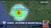 """Séisme en Vendée: """"J'ai cru qu'un camion était rentré dans ma vitrine"""", témoigne une boulangère"""