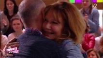 Clémentine Célarié retrouve l'homme séropositif qu'elle avait embrassé lors du Sidaction