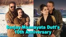 Sanjay Dutt & Maanayata Dutt's 10th Wedding Anniversary date