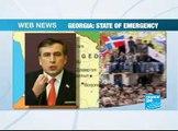 WebNews-Georgia State of Emergency EN France24