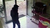 Cami yardım kutusunu çalan hırsız kameraya takıldı