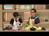 [Happyday]  Let's make! oriental melon skin cold meal 새콤달콤 참외껍질 냉채  [기분 좋은 날] 20150612