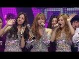 【TVPP】SNSD-TTS - Winner Interview of Holler, 소녀시대-태티서 - Holler 1위 소감 @ Show Music core Live