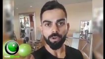 Virat Kohli Message For Aleem Dar Latest 2018