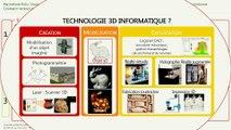Innover pour conserver:  Comment introduire les technologies 3D dans les ateliers de conservation-restauration ?