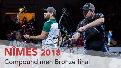 Paul Tedford v Demir Elmaagacli – Compound Men's Bronze Final | Nimes 2018