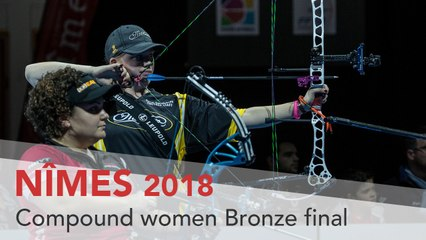 Sarah Sonnichsen v Andrea Marcos – Compound Women's Bronze Final | Nimes 2018