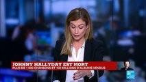 Mort de Johnny Hallyday : amis, artistes et politiques lui rendent hommage