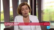 """Florence Parly : """"L'EI est d'ores et déjà en train de redéployer son action"""""""