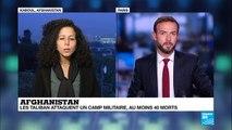 Afghanistan : au moins 40 soldats tués dans une attaque attribuée aux Talibans