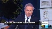 Vidéo : Saint-Laurent-du-Maroni, porte d'entrée clandestine vers la Guyane française