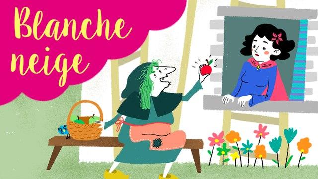 Blanche Neige - histoires et contes traditionnels en dessin animé pour enfant