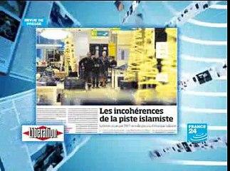 Presse française sur la menace d'attentat au Printemps