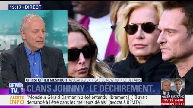 """Succession de Johnny: il y a un risque de """"clash judiciaire"""" entre la France et les Etats-Unis"""