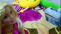 ÖYKÜNÜN DEV ARKADAŞI BARBİE Doll , messy feeding vacuum cleaner doll house toys Comedy For Kids