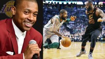Isaiah Thomas TROLLS LeBron James for Getting Scored on by Kyrie Irving