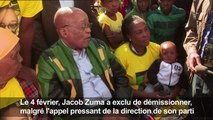 """Afrique du Sud: l'ANC réunie pour """"finaliser"""" le départ de Zuma"""
