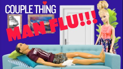 When Your BF Has Man FLu