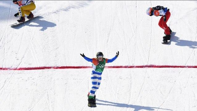 JO 2018 : Snowboard cross Femmes : A 16 ans, Julia Pereira de Sousa décroche l'argent !