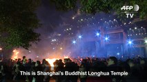 Year of the Dog: Shanghai rings in Lunar New Year