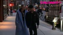 Gigi Hadid & Zayn Malik Hold Hands While Leaving Their Apartment In New York City 1.29.18