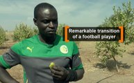 Senegal: Remarkable transition of a football player