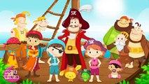 Ainsi Font Font Font les Petites Marionnettes - Version Pirate pour les enfants - Titounis
