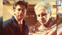 Shah Rukh Meets Legendary Actor Dilip Kumar At His Residence