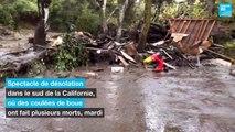 États-Unis : coulées de boue meurtrières en Californie