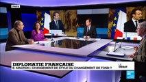 Diplomatie française : Emmanuel Macron, changement de style ou changement de fond ? (partie 1)