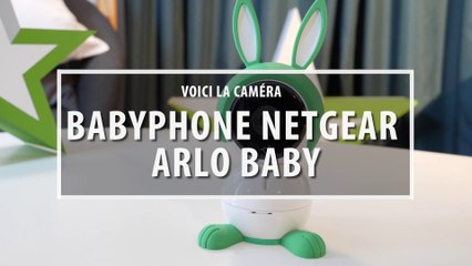 Caméra babyphone Netgear Arlo Baby