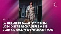 PHOTOS. Brigitte Macron: l'écharpe avec laquelle elle brave le froid de l'hiver