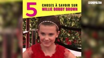 5 choses à savoir sur Millie Bobby Brown