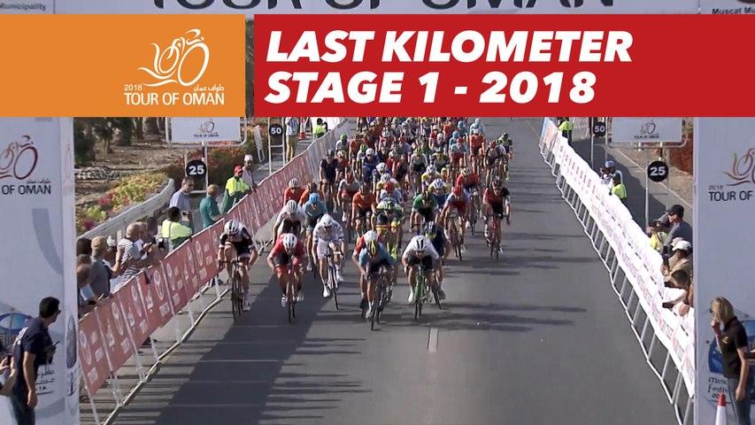 Last kilometer - Stage 1 - Tour of Oman 2018