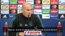 Foot - C1 - Real Madrid : Zidane sans langue de bois