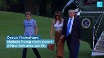 États-Unis : Melania Trump s'installe enfin à la Maison Blanche