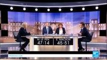 """LE DÉBAT - Marine Le Pen : """"La France sera dirigée par une femme, ce sera moi ou Mme Merkel"""""""