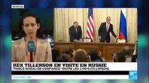 Russes et Américains se disent prêts au dialogue malgré leurs divergences sur la Syrie