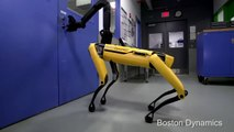 Le chien robot Boston Dynamics qui ouvre désormais des portes