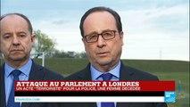 """Hollande : """"La France peut savoir ce que le peuple britannique a comme souffrances aujourd'hui"""""""