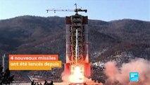 Corée du nord - 4 missiles dont 3 tombent près du Japon