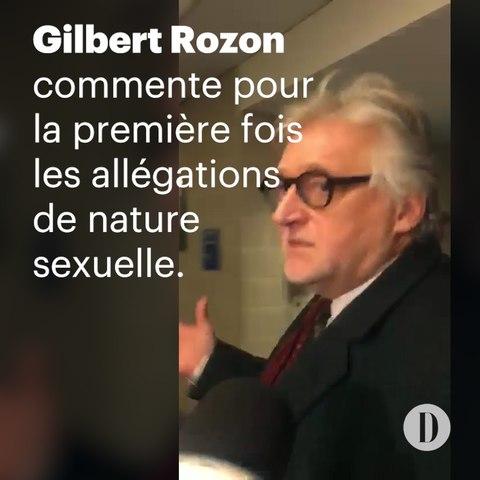 Gilbert Rozon commente pour la première fois les allégations de nature sexuelle