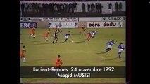 24/10/92 : Majid Musisi (7') : Lorient - Rennes (1-4)