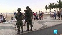 Brésil : à Rio, des militaires dans les rues